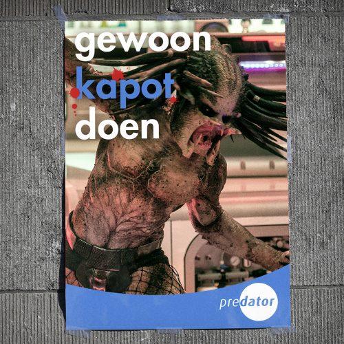 5228FOX_ThePredator_verkiezing posters - OpenVLD