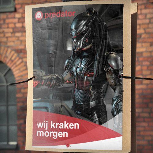 5228FOX_ThePredator_verkiezing posters - SPA
