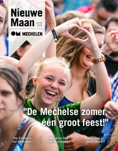 Outre les informations politiques, De Nieuwe Maan abordent les événements locaux.