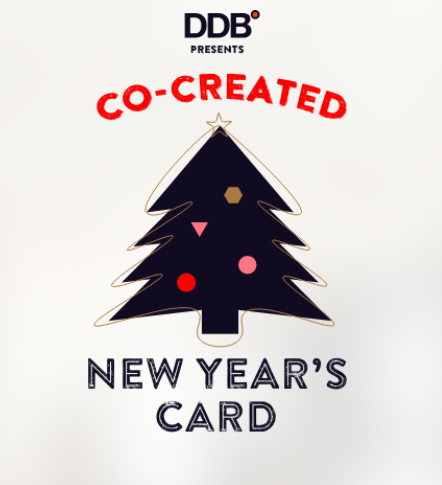 DDB ce create Xmas card