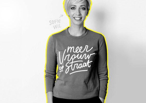 Sofie Lemaire vrouw op straat