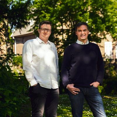 Tim Wolfs et Pierre Polet