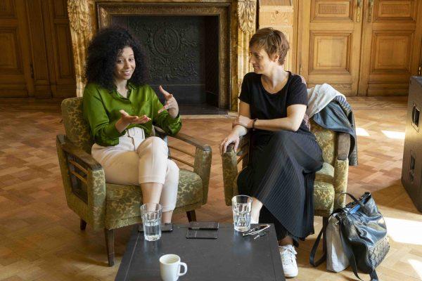 Sihame El Kaouakibi & Petra De Roos (© Hilderson Foto)