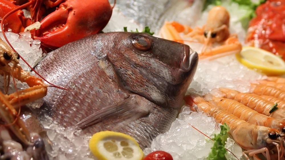 poisson et produit de la mer