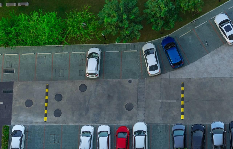 aménagement places de parking entreprise