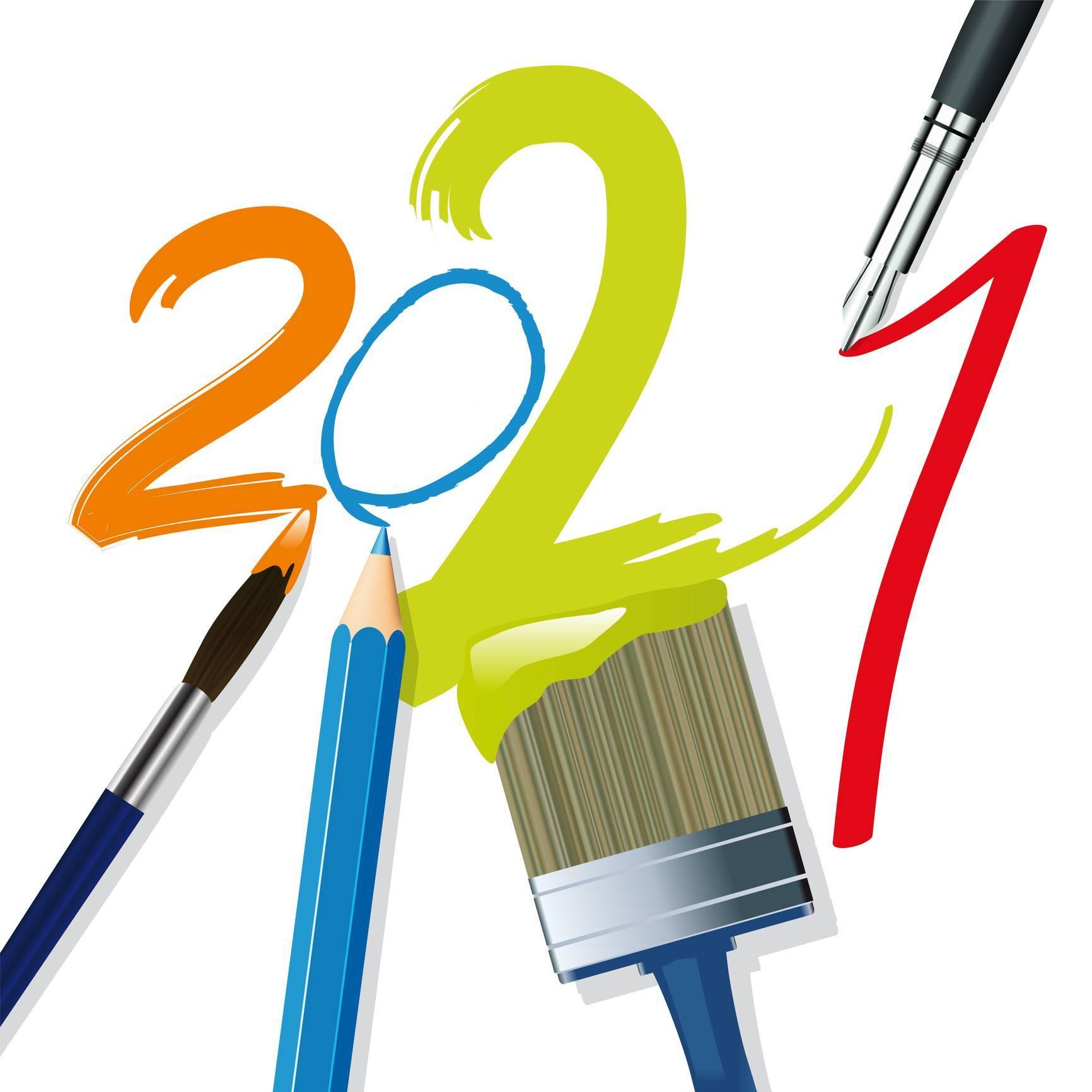 création logo tendance graphique 2021