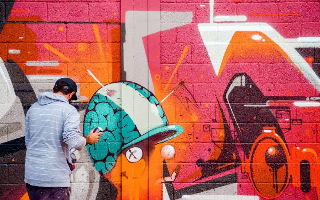 Le street art s'invite dans les cafétérias d'entreprises