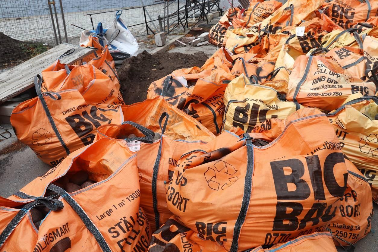 Big bag de chantier