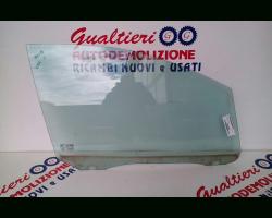 1363837 VETRO SCENDENTE ANTERIORE SINISTRO FORD C - Max 1° Serie 1600 Diesel g8da 80 Kw  (2005) RICAMBI USATI