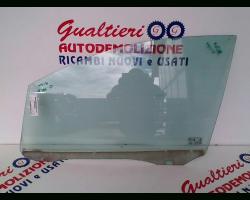 1363836 VETRO SCENDENTE ANTERIORE DESTRO FORD C - Max 1° Serie 1600 Diesel g8da 80 Kw  (2005) RICAMBI USATI