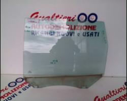 1226721 VETRO SCENDENTE POSTERIORE SINISTRO FORD C - Max 1° Serie 1600 Diesel g8da 80 Kw  (2005) RICAMBI USATI