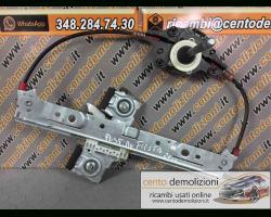 Meccanismo alza vetro Post. DX FORD Fiesta 6° Serie