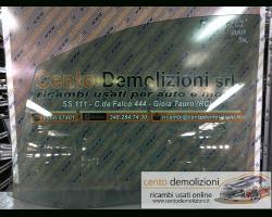 Vetro scendente anteriore Sinistro PEUGEOT 807 1° Serie