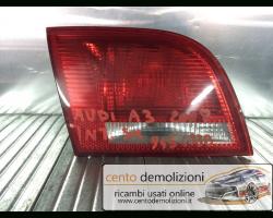Stop Posteriore Sinistro Integrato nel Portello AUDI A3 4° Serie