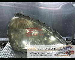 Faro anteriore Destro Passeggero MERCEDES Classe A W168 1° Serie