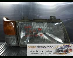 133224000 FARO ANTERIORE DESTRO PASSEGGERO SAAB 9000 CS 1° Serie 2000 Benzina  (1990) RICAMBI USATI