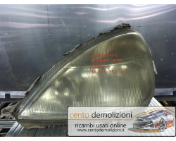 Faro anteriore Sinistro Guida MERCEDES Classe A W168 1° Serie