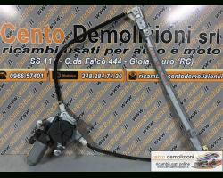 Motorino Alzavetro anteriore Sinistro RENAULT Clio 3