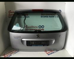 8701q4 PORTELLONE POSTERIORE COMPLETO PEUGEOT 307 S. Wagon 1600 Diesel 9hz  (2004) RICAMBI USATI
