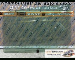 Vetro scendente posteriore Sinistro PEUGEOT 5008 1° Serie