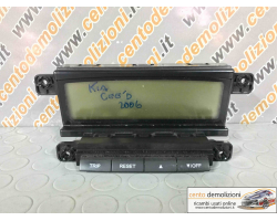 Display KIA Cee'd 1° Serie