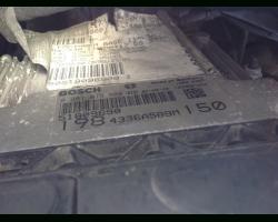 0281013580  51809690 KIT CENTRALINA MOTORE FIAT Bravo 2° Serie 1910 Diesel 937A5000 110 Kw  (2008) RICAMBI USATI