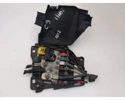 BOX CONTENITORE PORTA FUSIBILI CITROEN C3 2° Serie 1.4 diesel (2012) RICAMBI USATI
