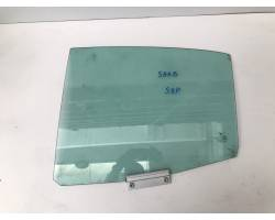 VETRO SCENDENTE POSTERIORE SINISTRO SAAB 9-3 Berlina 2° Serie 2.2 diesel (2004) RICAMBI USATI