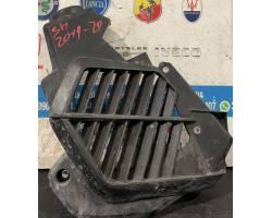 RIVESTIMENTO SUPERIORE RADIATORE IN PLASTICA HONDA SH 150cc i ABS (17>19) 150 benzina (2019) RICAMBI USATI