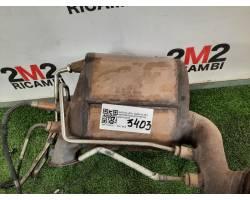 1k0131723g FAP FILTRO ANTIPARTICOLATO AUDI A3 Sportback (8P) 1896 diesel (2008) RICAMBI USATI