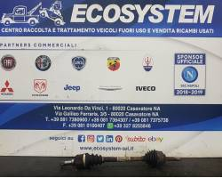 SEMIASSE ANTERIORE SINISTRO CITROEN C3 1° Serie 1400 diesel (2004) RICAMBI USATI