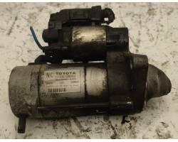 MOTORINO D' AVVIAMENTO TOYOTA Auris Serie (E150) (07>12) 1400 diesel (2010) RICAMBI USATI