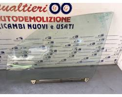 Vetro scendente anteriore Sinistro DR 5 1° Serie