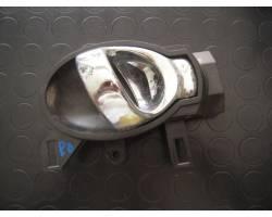 MANIGLIA INTERNA POSTERIORE DESTRA NISSAN Juke 1° Serie 1600 Benzina  (2012) RICAMBI USATI