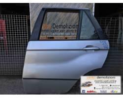 Portiera Posteriore Sinistra BMW X5 1° Serie