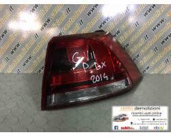 Stop posteriore Destro Passeggero VOLKSWAGEN Golf 7 Berlina