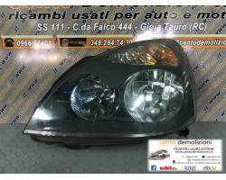 Faro anteriore Sinistro Guida RENAULT Clio 4
