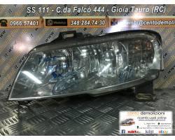 Faro anteriore Sinistro Guida FIAT Stilo Berlina 5P