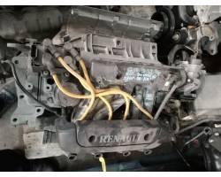 D7F722 MOTORE COMPLETO RENAULT Clio 3 1200 Benzina 55 Kw  (2000) RICAMBI USATI