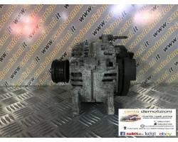 0124425037 ALTERNATORE RENAULT Megane ll 2° Serie 1500 Diesel  (2007) RICAMBI USATI