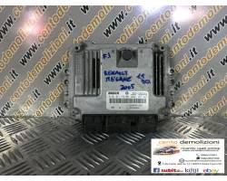 0281011776 CENTRALINA MOTORE RENAULT Megane ll 1° Serie 1900 Diesel  (2005) RICAMBI USATI