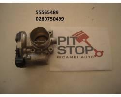 55565489 CORPO FARFALLATO OPEL Mokka 1° Serie 1400 Benzina 24000 Km  (2015) RICAMBI USATI