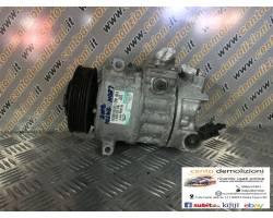 1K0820859F COMPRESSORE A/C SEAT Leon 2° Serie 1900 Diesel  (2007) RICAMBI USATI