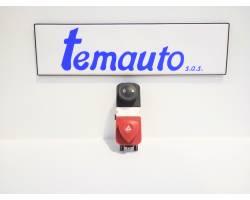 88040009 PULSANTE LUCI DI EMERGENZA RENAULT Scenic 3° Serie Benzina  (2006) RICAMBI USATI