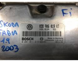 Centralina motore SKODA Fabia Berlina 1° Serie