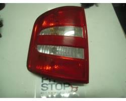 STOP FANALE POSTERIORE SINISTRO LATO GUIDA SKODA Fabia S. Wagon 1° Serie 1400 Benzina  (2004) RICAMBI USATI