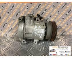 97701-1D400 COMPRESSORE A/C KIA Carens 2° Serie 2000 Diesel   Km  (2008) RICAMBIO USATO