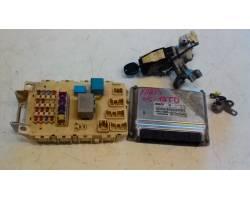 0281011126 KIT CHIAVE TOYOTA Yaris 2° Serie 1400 Diesel  (2005) RICAMBI USATI