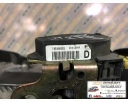Cintura di sicurezza anteriore destra FIAT Doblò 2° Serie