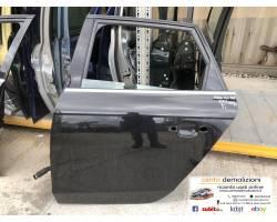 PORTIERA POSTERIORE SINISTRA AUDI A4 Berlina 5° Serie 2000 Diesel   Km  (2013) RICAMBIO U...